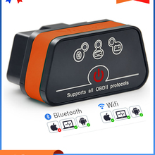 ELM327 Obd2 Code-Reader Automotive-Diagnostic-Scanner Icar Bluetooth Android/pc/Ios 2-Wifi