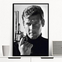 Bond James 007 Canvas Painting Posters And Prints Wall Art Picture Decoration Home Decor Cuadros