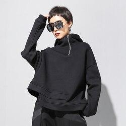2020 neue Frühling Herbst Beiläufige Hoodies Frauen Pullover Lange Hülse Lose Mode Weibliche Sweatshirts Streetwear Oversize WH58