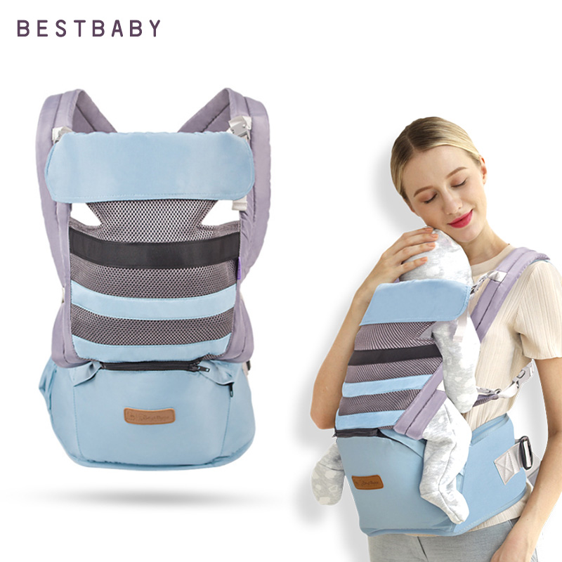 BESTBABY Baby Accessories 3 In 1 Baby Wrap Ergonomic Baby Carrier Fular Portabebe 0-36M Kangaroo Baby Sling For Baby Travel