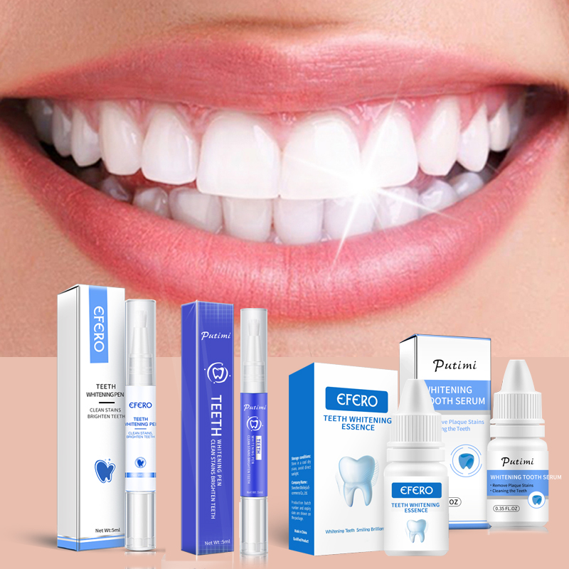 Teeth Whitening Serum Oral Hygiene Essence Teeth Whitening Pen Gel Effective Remove Plaque Stains Teeth Cleaning Product Water