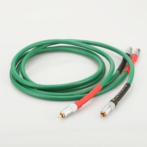 Image 2 - Высококачественный Hi Fi аудио 2328 Чистый медный Hi Fi аудио кабель RCA соединительный кабель