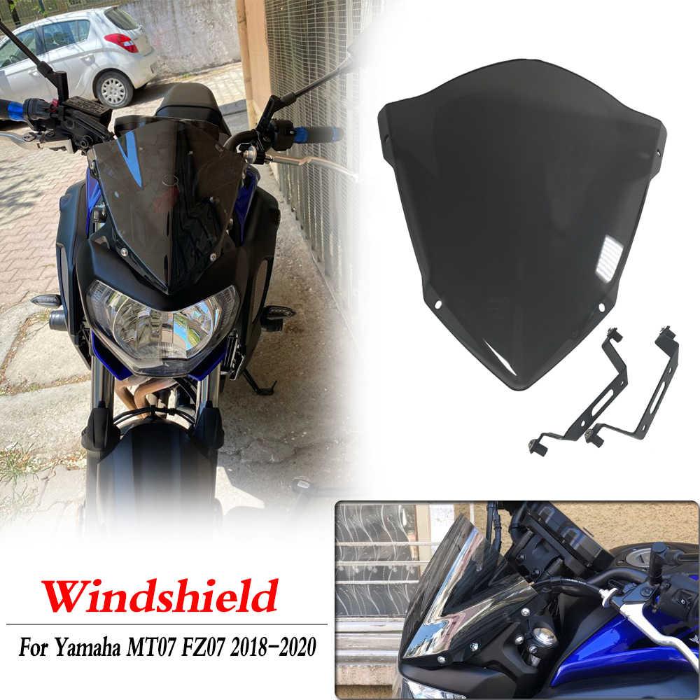Parabrisas De Cúpula Mt07 Fz07 Para Yamaha 2018 2019 2020 Mt Fz 07 Parabrisas Protector Deflector De Viento Accesorios Para Motocicleta Aliexpress