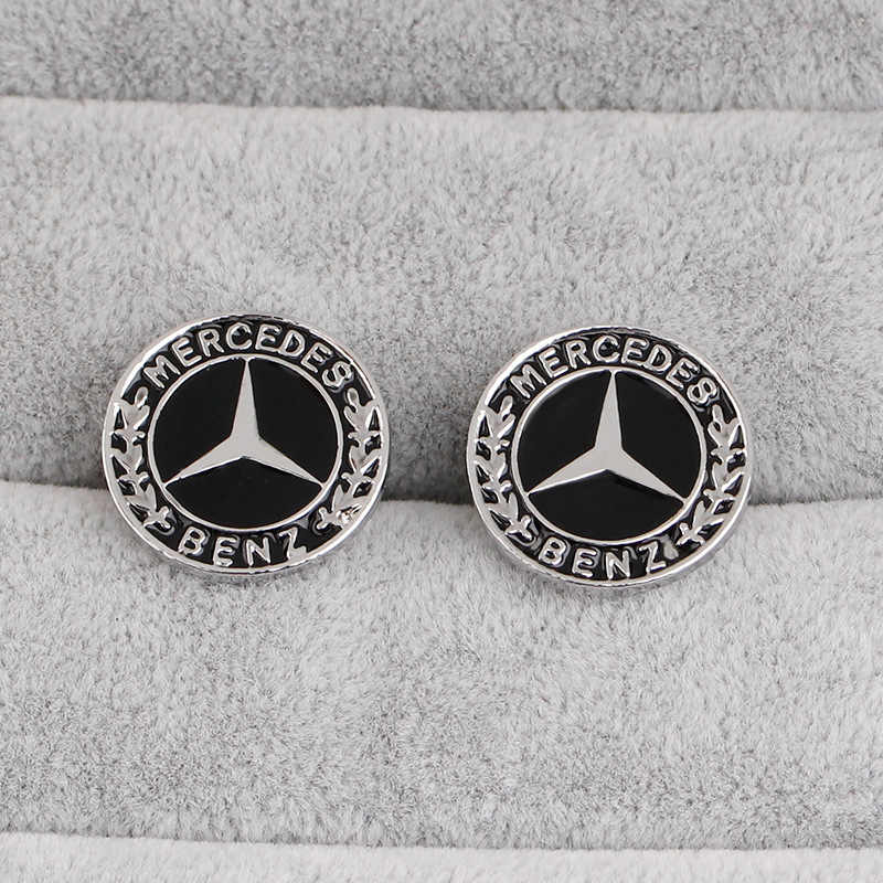 German car logo cufflinks creative jewelry fashion French shirt sleeve nails wild clothing accessories wholesale and retail