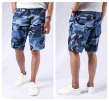 Mens Army Style Combat Military BDU Shorts Casual Work Camouflage Cargo