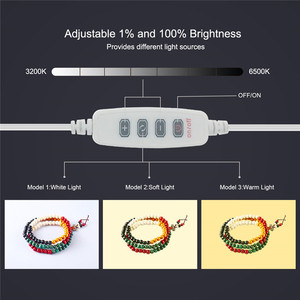 Image 5 - PULUZ 20cm Mini Estudio difuso caja de luz suave anillo LED Panel regulable luz mesa de rodaje foto estudio caja 6 fondos