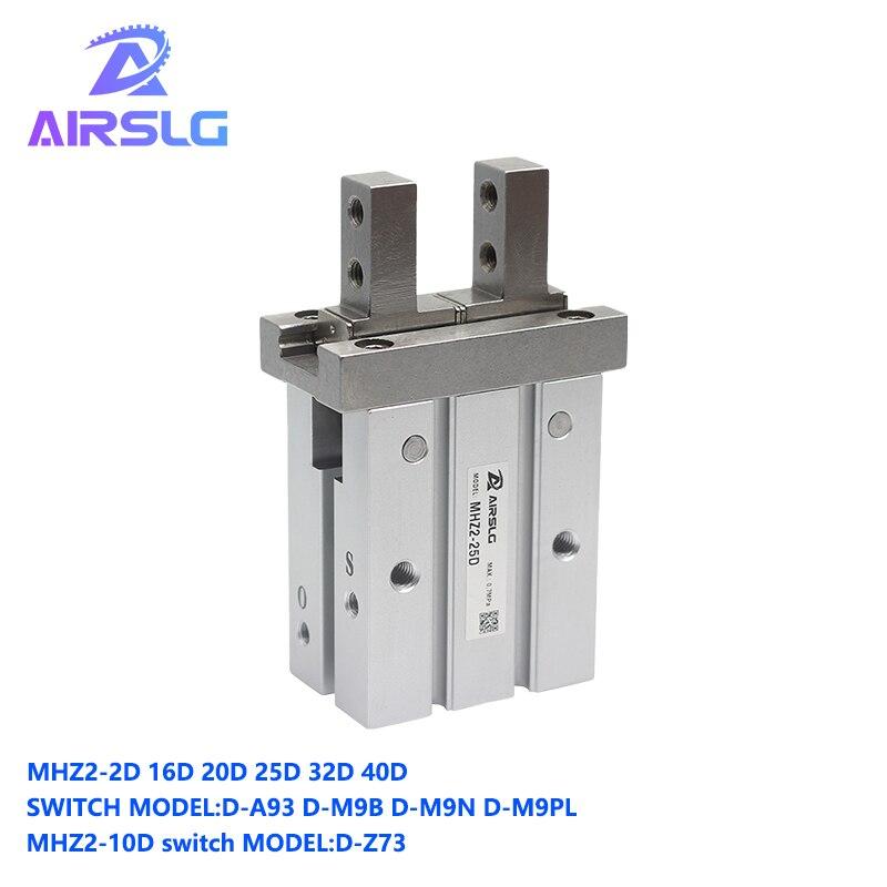 Купить smc тип mhz2 10d 16d  20d 25d 32d 40d воздушный цилиндр двойного