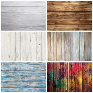 Laeacco Gray White Wood Background Old Plank Hardwood Board Texture Pattern Party Photography Backdrop Photocall Photo Studio