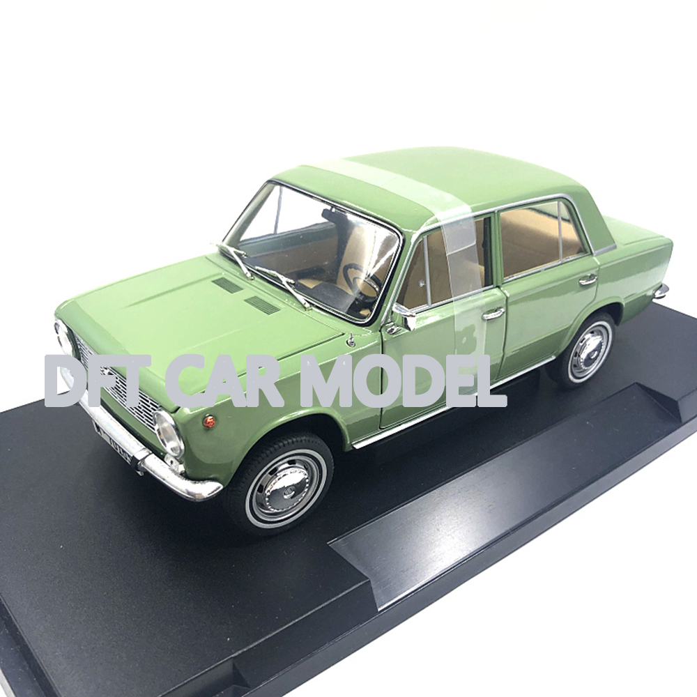 1:18 Diecast <font><b>wheel</b></font> 124 Lada Diecast <font><b>Car</b></font> <font><b>Model</b></font> Toys For Gifts Collection Free Shipping image