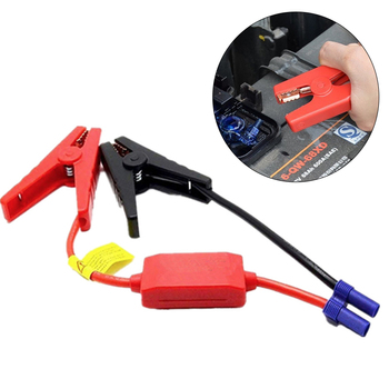 Red Black Battery Clip Connector Emergency Jumper Cable Clamp Booster Clips for Universal 12V Car Starter Accessories image