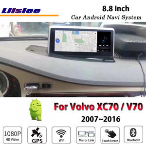 Car-Android-Multimedia Navi-Navigation-System Radio Stereo Volvo Xc70 Mirror Link 2007