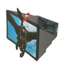 3D Лупа F2 Лупа глаз экран HD усилитель мобильный Телескопическая Подставка видео усилитель мобильный телефон экран усилитель