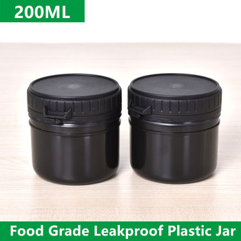 200ML Empty Plastic jar with Tamper Evident Lids Leakproof storage container for Honey/candy/cream/Paint BPA Free 1PCS image