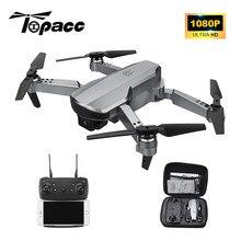 Topacc T58 WIFI FPV Drone pieghevole RC Quadcopter Mini 1080P altezza Holde RTF DronToy elicottero regalo VS E68 E88 PRO XT6 V4