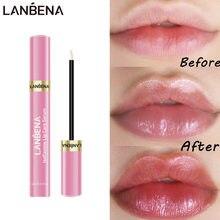 LANBENA-suero labial para el cuidado de los labios, mascarilla labial que Reduce las líneas finas, aumenta la elasticidad de los labios, resiste el envejecimiento, para hidratación de labios