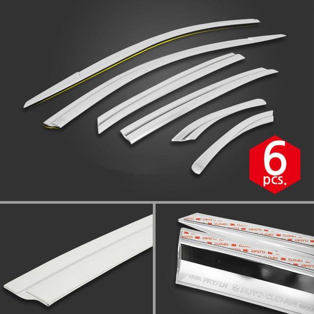 1 комплект хромированных боковых вентиляционных солнцезащитных