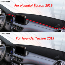 цена на Left Right Hand Drive Dashboard Cover Mat SunShade Cushion Pad Protector Carpet Trim For Hyundai Tucson 2019 2015-2018 2006-2014