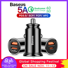 Baseus 30W Car Charger with Type C PD Fast Charger