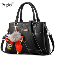 купить Women PU leather handbags famous brands Ptgirl crossbody bag for women fashion bags ladies luxury bags 2019 sac a main femme Bag дешево