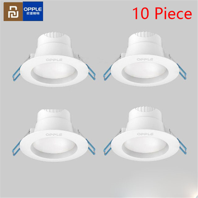Wholesale Youpin Opple LED Downlight 3W 120 Degree Angle lighting White Light and Warm Ceiling Recessed Light For Home Office