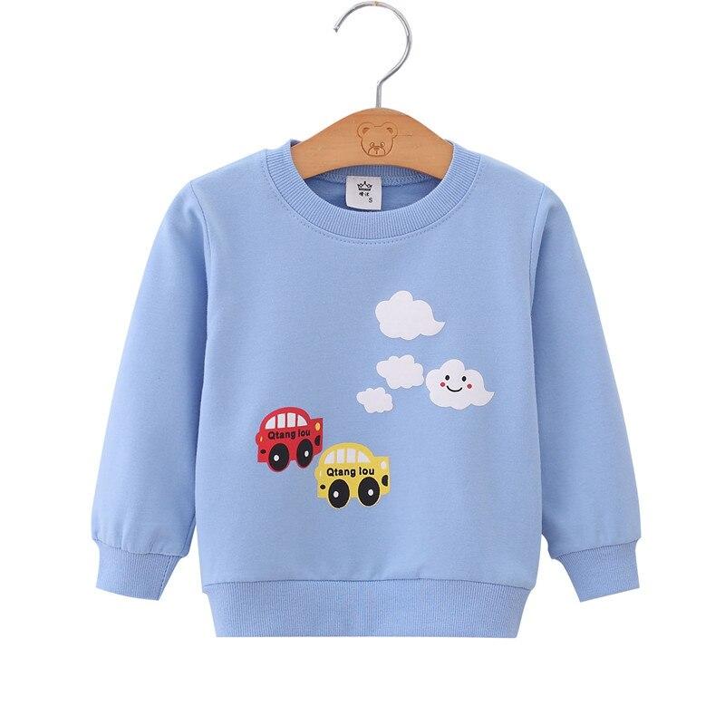 2019 automne garçons marque vêtements enfants sweats à capuche et sweat-shirts garçon coton Animal imprimer enfants sweat-shirts bébé sweat-shirt