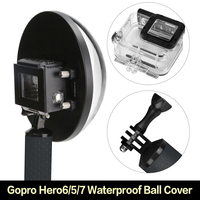 Gopro Hero6/5/7 Water Lens Cover Gopro7/5/6 Generation Diving Mask With fish Eye Waterproof Ball Cover