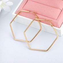 New Fashion Sliver Gold Rose Gold Color Big Hoop Earrings Hoops Bohemian Earrings Circle Hoop Earrings For Women Party Jewelry 2pcs set geometric big women hoop earrings gold hoop earrings for women copper gold plated earrings gift for girl