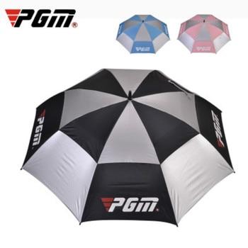 PGM Automatic Grip Golf Umbrella Golf Sunscreen Umbrella Glass Fiber Straight Rod Golf Supplies YS003