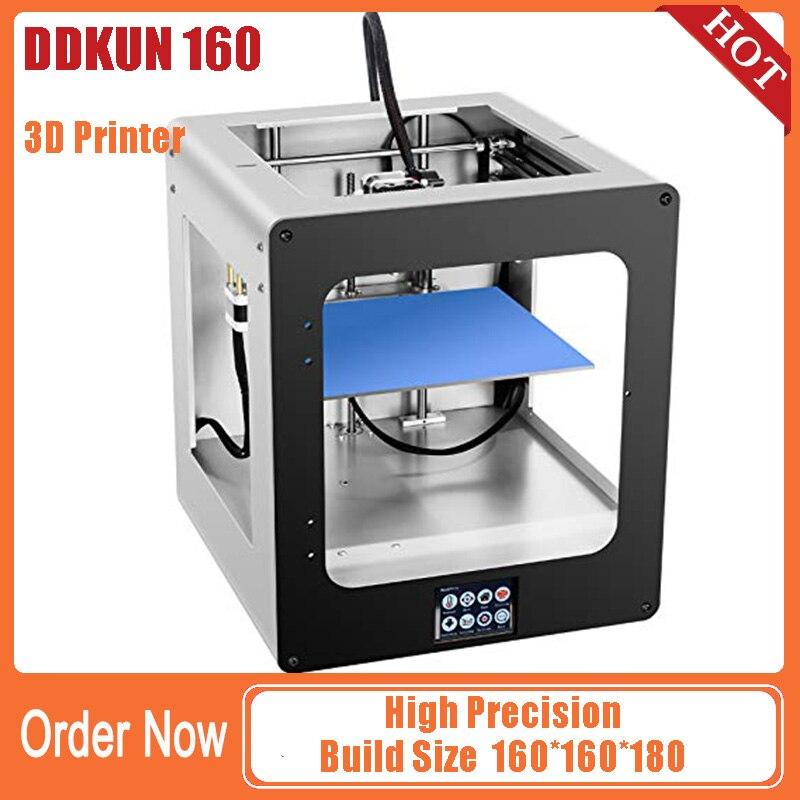 Regalo DDKUN 160 Desktop di livello 3D Stampante Drucker Stampante Macchina FDM Struttura In Metallo Singolo Estrusore Ugello Focolaio 3D Stampante