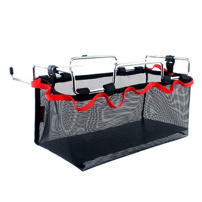 Сетчатый мешок для хранения вещей, сетчатый мешок для хранения для пикника, кемпинга, кухни, складной стол, подвесная сетка