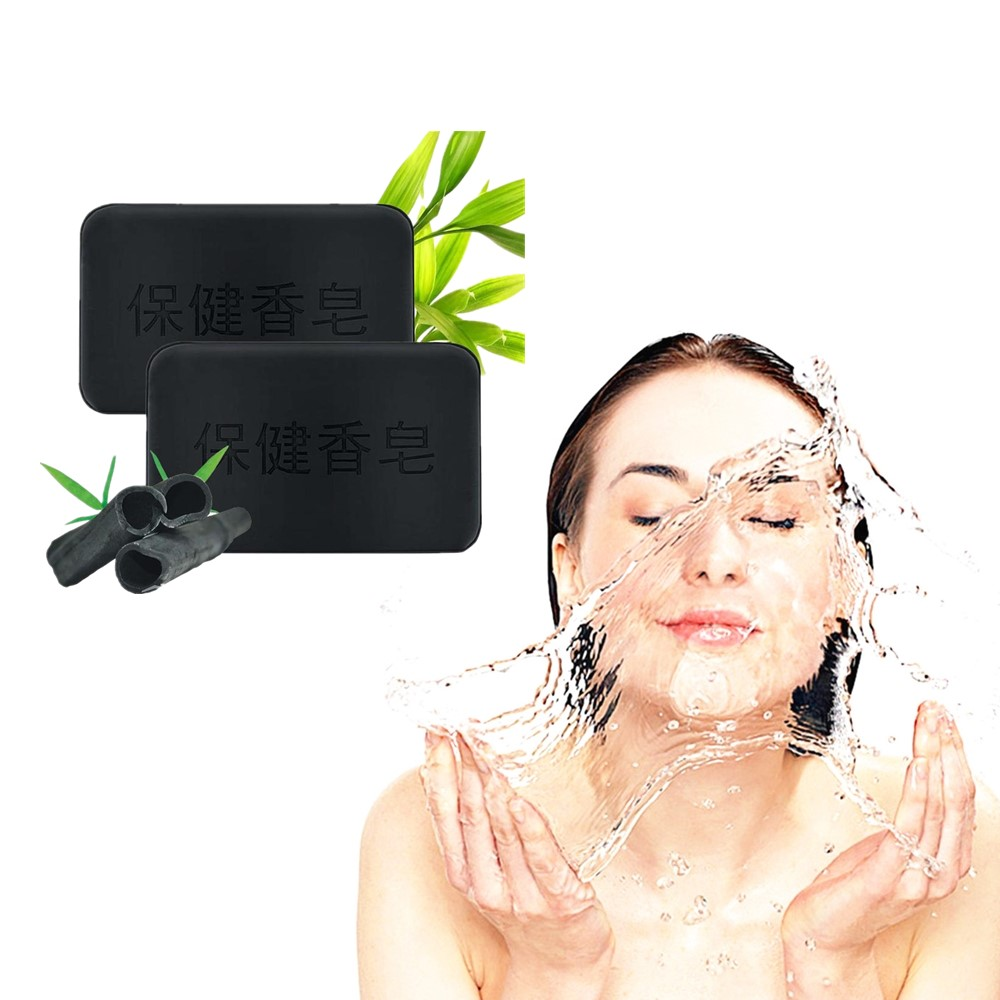 Anti Aging Active Bamboo Charcoal Cleasning Soap Anti Freckles Healthy Care Active Energy Charcoal Tourmaline And Antiacne Soap