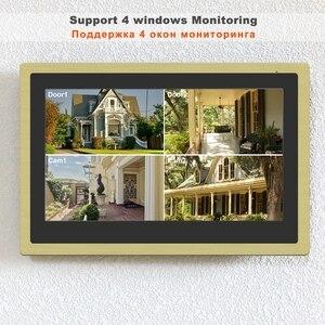 Image 4 - Homefongワイヤレスビデオドア電話wifiビデオインターホン家庭用10インチのタッチスクリーン1080pカメラスマート時間制御