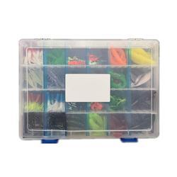 146 sztuk/pudło ryby ołowiu haki Bionic przynęty miękkie sztuczne przynęty zestaw akcesoria wędkarskie
