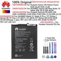 Orginal Huawei Batterie Für Huawei Mate 9 20X 20 X/9 Pro/Y7 Prime/Honor V9 8X max/8C/8 Y7 Pro Note 10 Ascend P8/P8 Lite Batterien