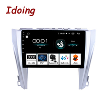 """Idoing 10.2 """"IPS 2.5D Radio Multimedia no 2 din Android 8.1 Video Player di Navigazione GPS Per Toyota Camry 55 2014-2017 4G   64G"""