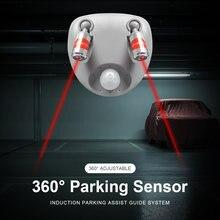 Регулируемый потолочный парковочный датчик индукционный двусторонний
