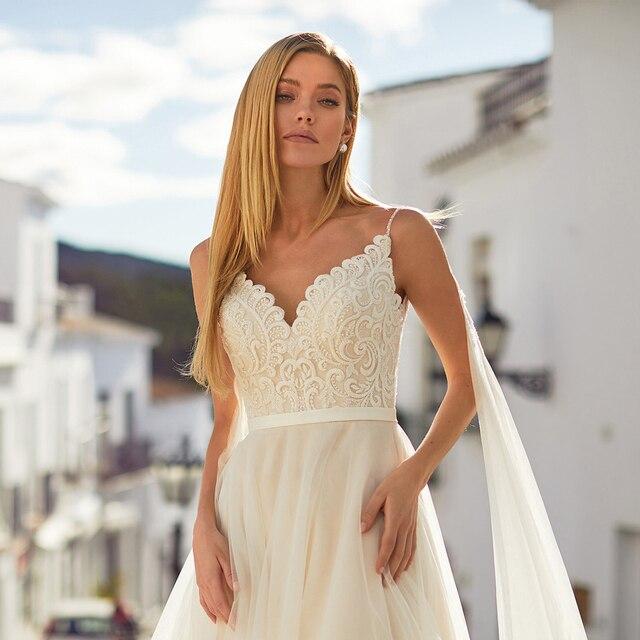 Robe de Mariage Bohème Romantique Sarah
