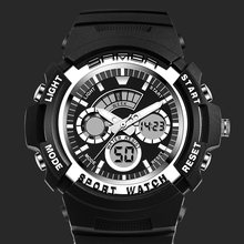 Watches Electronic Watch Leisure Sports Waterproof for Men amp Women Student Digital Wristwatches Relogio Digital Fashion Men cheap Plastic 24cm 3Bar Buckle ROUND 50mm 15mm Shock Resistant luminous Chronograph Complete Calendar Multiple Time Zone Water Resistant