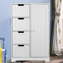 Cabinet Furniture Drawers Storage-Organizer Bedroom Living-Room Modern-Design with Door