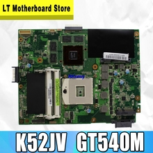 Laptop Motherboard HM55 PGA989 K52JV GT540M Asus DDR3 for K52jv/Rev/2.2/.. K52jv/100%fully-tested/S-4