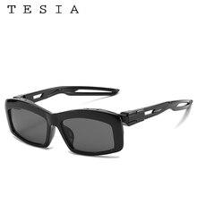 Vintage Rectangle Sunglasses Women Mens Sun Glasses Designer