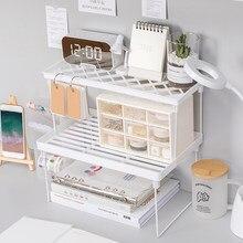 Casa organizador de armazenamento prateleira espaço economia decoração dobrável para cozinha conveniência mesa organização acessórios da cozinha