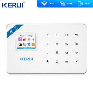 Image 3 - KERUI W18 WIFI GSM Sms のホーム盗難セキュリティ警報システムカーテンモーションセンサーワイヤレスソーラーサイレン IP 屋内カメラ