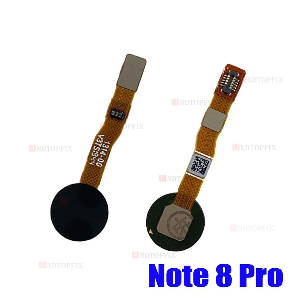 Redmi Note 8 Pro home button