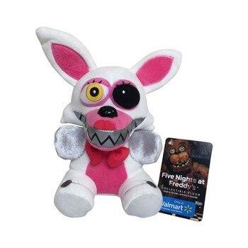 1pcs 18cm Five Nights At Freddy's FNAF Nightmare Fox Foxy Plush Toys Freddy Fazbear Soft Stuffed Animals Toys Doll for Kid Gifts 1