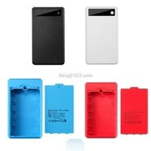 (Sem bateria) dupla usb 6x18650 baterias diy power bank caixa titular caso carregador adaptador de energia para o telefone móvel tablet