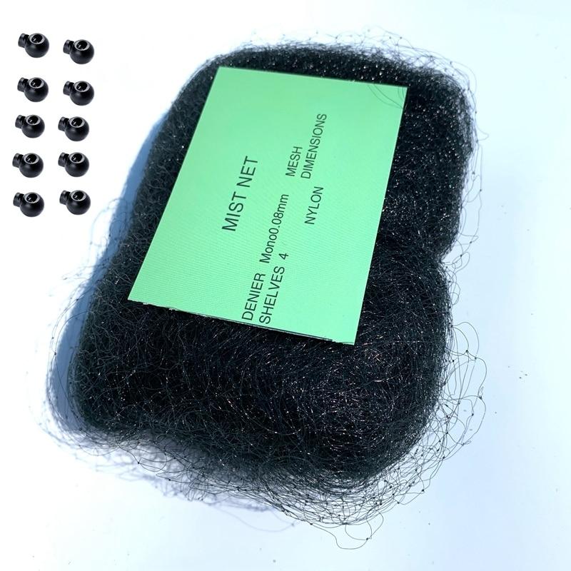 17x5m High Quality Nylon Mist Nets Monofilament 0.08mm  18mm Hole Orchard Garden Anti Bird Net Knotted Mist Net