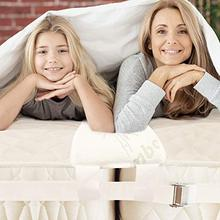 Wedge Mattress Two-Mattresses-To-A-Large for Restful Sleep Combines Lying Area Comfortable