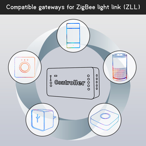 Image 2 - Gledopto zigbee コントローラ zll リンクライト rgb + cct led ストリップコントローラ dc12 24v アプリ制御作業と互換性ジグビー 3.0