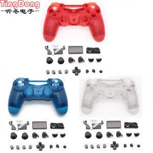 Image 1 - Чехол с полным покрытием корпуса, прозрачный чехол для Playstation 4 Pro, PS4 Slim Pro Controller 4,0, версия 2 Gen, для моделей 4 Pro, PS4, Slim Pro, с прозрачными вставками, для контроллеров, для моделей 4, 5, 4, 5, 4, 4, 4, 4, 4, 4, 4, 4, 4, 5, 4, 4, 4, 4, 4, 4, 4, 4, 4, 4, 4, 4, 4,